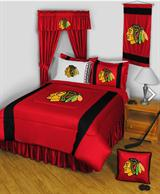Buy Chicago Blackhawks team bedding, Comforters, Drapes, and Sheets