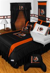 Buy Cincinnati Bengals team bedding, Comforters, Drapes, and Sheets