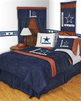 Buy Dallas Cowboys team bedding, Comforters, Drapes, and Sheets