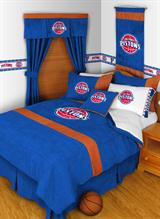 Buy Detroit Pistons team bedding, Comforters, Drapes, and Sheets