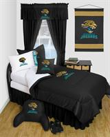 Buy Jacksonville Jaguars team bedding, Comforters, Drapes, and Sheets
