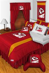 Buy Kansas City Chiefs team bedding, Comforters, Drapes, and Sheets
