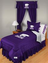 Buy Kansas State Wildcats team bedding, Comforters, Drapes, and Sheets