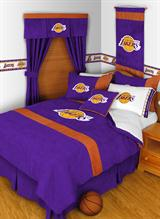 Buy Los Angeles Lakers team bedding, Comforters, Drapes, and Sheets