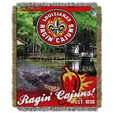 Buy Louisiana at Lafayette Rajin' Cajuns team bedding, Comforters, Drapes, and Sheets