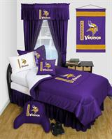 Buy Minnesota Vikings team bedding, Comforters, Drapes, and Sheets