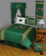 Buy Minnesota Wild team bedding, Comforters, Drapes, and Sheets