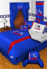 Buy New York Giants team bedding, Comforters, Drapes, and Sheets