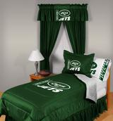 Buy New York Jets team bedding, Comforters, Drapes, and Sheets