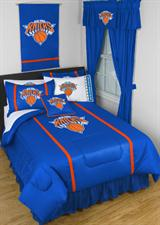 Buy New York Knicks team bedding, Comforters, Drapes, and Sheets
