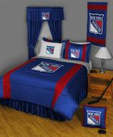 Buy New York Rangers team bedding, Comforters, Drapes, and Sheets
