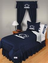 Buy Penn State Nittany Lions team bedding, Comforters, Drapes, and Sheets