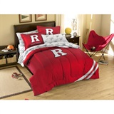 Buy Rutgers Scarlet Knights team bedding, Comforters, Drapes, and Sheets