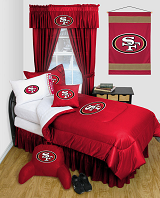 Buy San Francisco 49ers team bedding, Comforters, Drapes, and Sheets