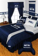 Buy Seattle Seahawks team bedding, Comforters, Drapes, and Sheets