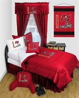 Buy Tampa Bay Buccaneers team bedding, Comforters, Drapes, and Sheets