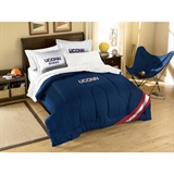 Buy Connecticut (UConn) Huskies team bedding, Comforters, Drapes, and Sheets
