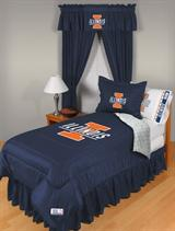 Buy Illinois Illini team bedding, Comforters, Drapes, and Sheets