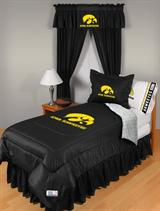 Buy Iowa Hawkeyes team bedding, Comforters, Drapes, and Sheets