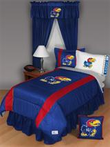 Buy Kansas Jayhawks team bedding, Comforters, Drapes, and Sheets