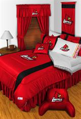 Buy Louisville Cardinals team bedding, Comforters, Drapes, and Sheets