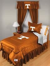 Buy Tennessee Volunteers team bedding, Comforters, Drapes, and Sheets