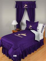 Buy Washington Huskies team bedding, Comforters, Drapes, and Sheets