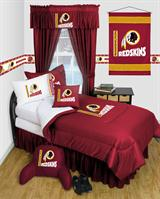 Buy Washington Redskins team bedding, Comforters, Drapes, and Sheets