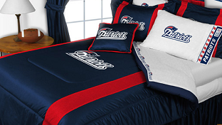 New England Patriots Sports Bedding