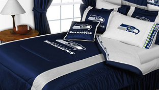 Seattle Seahawks NFL Sports Bedding