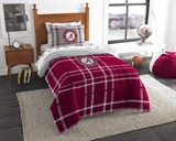 "Alabama Crimson Tide NCAA ""Soft & Cozy"" Twin Comforter Set"