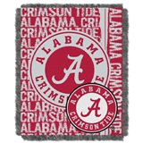 "Alabama Crimson Tide ""Double Play"" Woven Jacquard Throw"