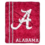 "Alabama ""Jersey"" Sherpa Throw"