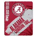 "Alabama Crimson Tide ""Painted"" Fleece Throw"