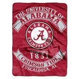 "Alabama ""Rebel"" Raschel Throw"