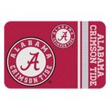 Alabama Crimson Tide Round Edge Bath Rug