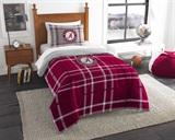 Alabama Crimson Tide Twin Comforter & Sham Set