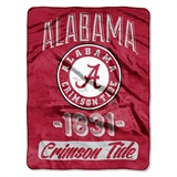 "Alabama Crimson Tide ""Varsity"" Micro Raschel Throw"
