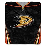 "Anaheim Ducks NHL ""Jersey"" Raschel Throw"