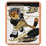 "Anaheim Ducks NHL ""Score Baby"" Baby Woven Jacquard Throw"