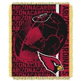 "Arizona Cardinals ""Double Play"" Woven Jacquard Throw"