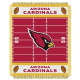 "Arizona Cardinals ""Field"" Baby Woven Jacquard Throw"