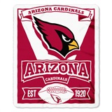 "Arizona Cardinals ""Marquee"" Fleece Throw"