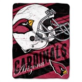 "Arizona Cardinals NFL ""Deep Slant Micro Raschel Throw"