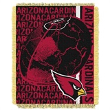 "Arizona Cardinals NFL ""Double Play"" Woven Jacquard Throw"