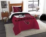 "Arizona Cardinals NFL ""Draft"" Twin Comforter Set"