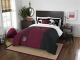 Arizona Cardinals NFL Full Applique Comforter Set
