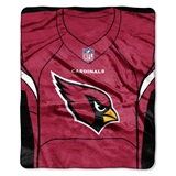 "Arizona Cardinals NFL ""Jersey"" Raschel Throw"