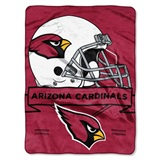 "Arizona Cardinals NFL ""Prestige"" Raschel Throw"