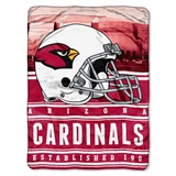 "Arizona Cardinals NFL ""Stacked"" Silk Touch Throw"